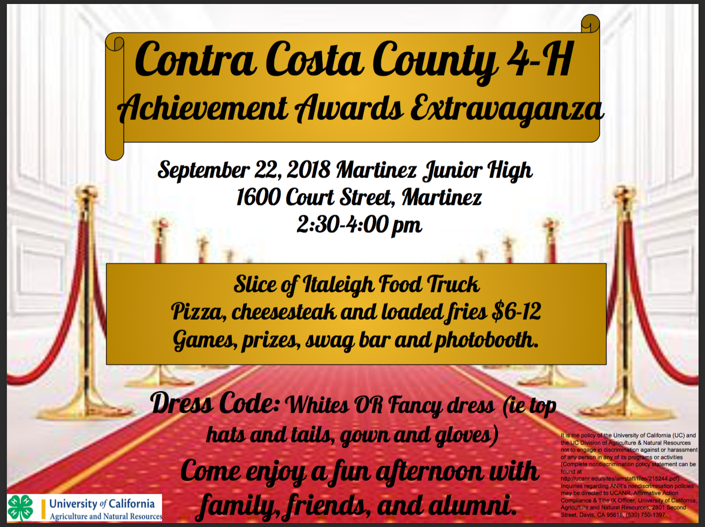 Achievement Night 2018